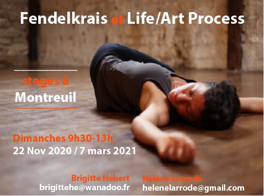 Fendelkrais Life art Process 2020-2021